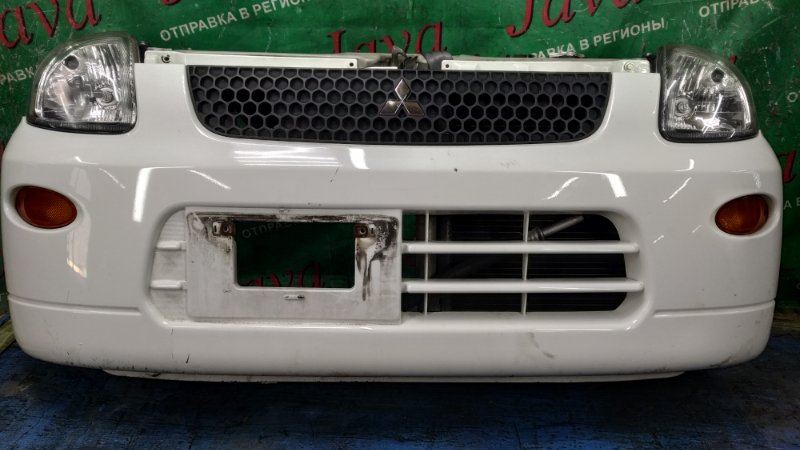 Ноускат Mitsubishi Minica H42V 3G83 2010 передний (б/у) ФАРЫ ХРУСТАЛЬНЫЕ. ПОД А/Т.