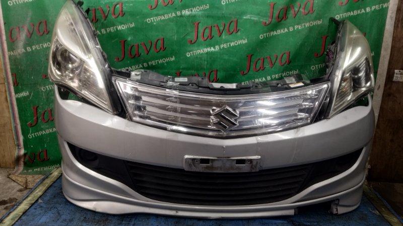 Ноускат Suzuki Solio MA15S K12B 2013 передний (б/у) КСЕНОН. ЛОМ ВЕРХНЕГО КРЕПЛЕНИЯ ПРАВОЙ ФАРЫ.
