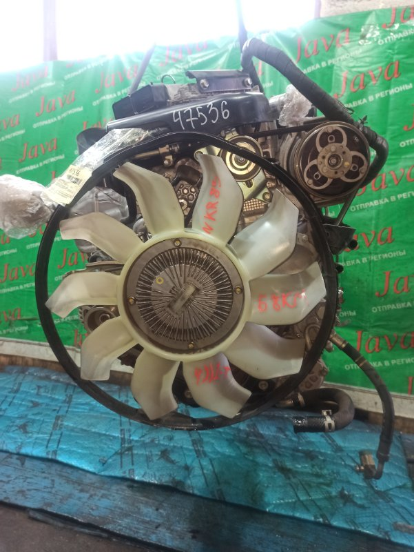 Двигатель Isuzu Elf NKR85 4JJ1-T 2016 (б/у) ПРОБЕГ-68000КМ. 2WD. 24V. 2-Е ТУРБИНЫ. КОСА+КОМП. ПОД А/Т. СТАРТЕР В КОМПЛЕКТЕ. COMMON RAIL.