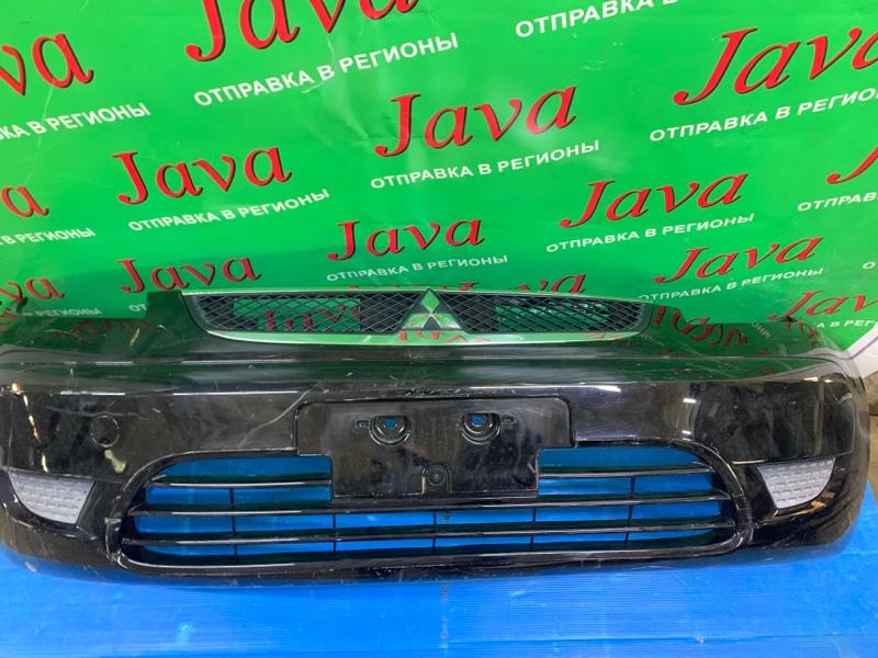 Бампер Mitsubishi Colt Z21A 4A90 2010 передний (б/у) 3-я МОДЕЛЬ. ПОТЕРТОСТИ. ДЕФЕКТ НИЖНЕГО КРЕПЛЕНИЯ.