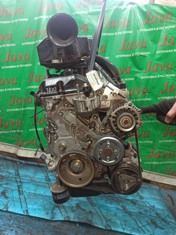 Двигатель Nissan Dayz B21W 3B20 2014 (б/у) ПРОБЕГ-34000КМ. 2WD. +КОМП. ПОД А/Т. СТАРТЕР В КОМПЛЕКТЕ. ДЕФЕКТ ФИШКИ ЗАСЛОНКИ, СТАРТЕРА.