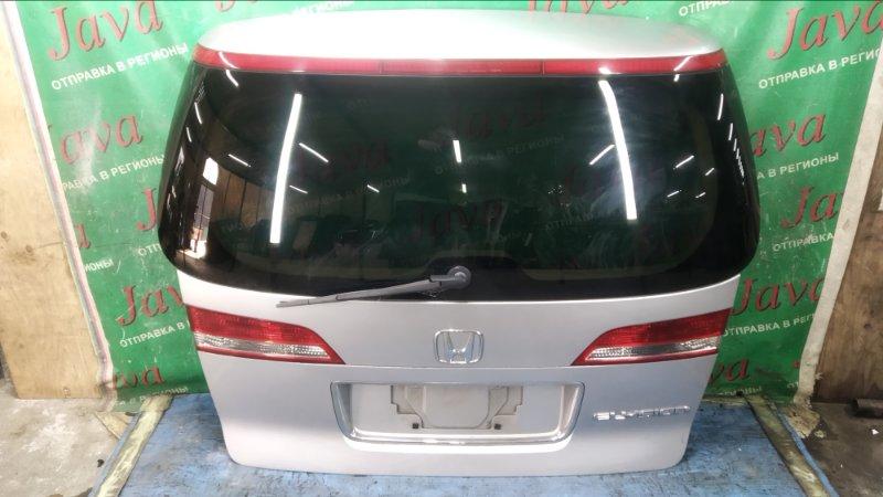 Дверь задняя Honda Elysion RR1 K24A 2004 задняя (б/у) 1-я МОДЕЛЬ.  ПОТЕРТОСТИ. МЕТЛА. КАМЕРА