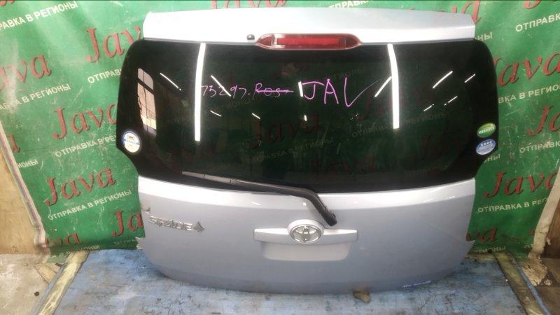 Дверь задняя Toyota Spade NCP141 1NZ-FE 2012 задняя (б/у) ПОТЕРТОСТИ. МЕТЛА