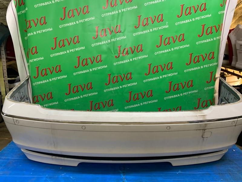 Бампер Bmw 7-Series E65 N62B40A 2007 задний (б/у) ПОТЕРТОСТИ. ПОЛЕЗЛА КРАСКА. СОНАРЫ. WBAHL62070DT42416