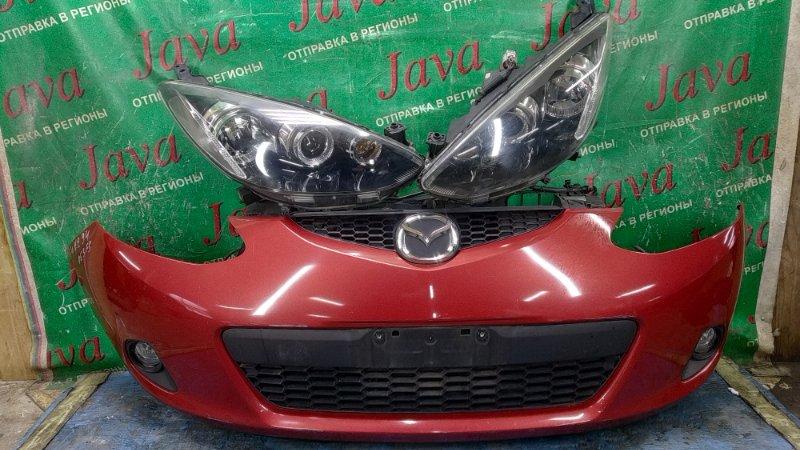 Ноускат Mazda Demio DE3FS ZJ-VE 2007 передний (б/у) КСЕНОН. ТУМАНКИ. 1-Я МОД.