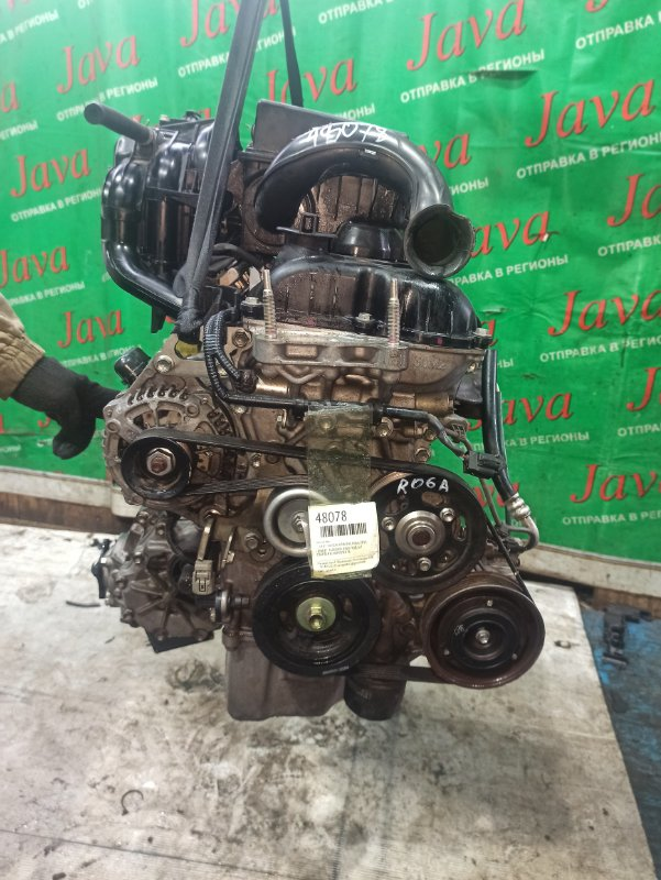 Двигатель Suzuki Wagon R MH34S R06A 2014 (б/у) ПРОБЕГ-36000КМ. 4WD. +КОМП.  ПОД А/Т. СТАРТЕР В КОМПЛЕКТЕ.