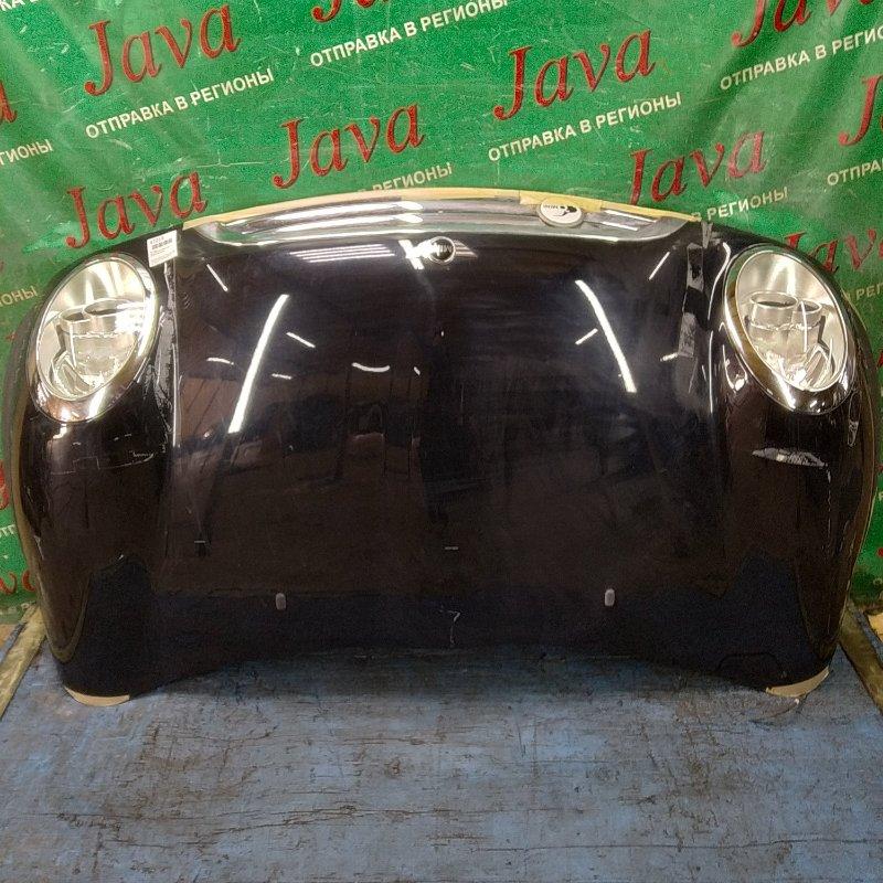 Капот Mini Cooper R50 W10B16A 2007 передний (б/у) ПОТЕРТОСТИ. СЛЕДЫ СКОТЧА. +ФАРЫ. WMWRC32090TN96010