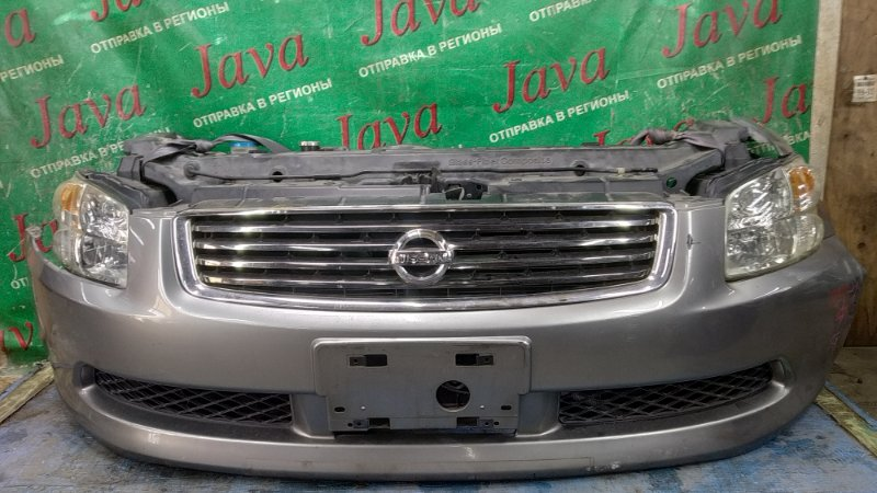 Ноускат Nissan Stagea M35 VQ25DD 2005 передний (б/у) 2-Я МОД. КСЕНОН. ПОД А/Т.