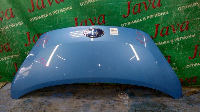 Капот Subaru Stella LA100F KF-VE3 2012 передний (б/у) ПОТЕРТОСТИ.
