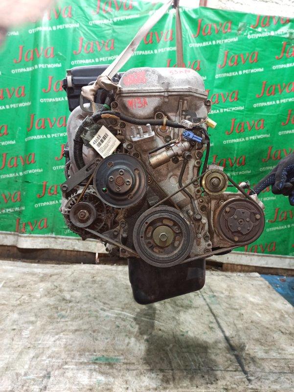 Двигатель Chevrolet Cruze HR51S M13A 2001 (б/у) ПРОБЕГ-53000КМ. 2WD. КОСА+КОМП. МЕХ.ЗАСЛОНКА. ПОД А/Т. СТАРТЕР В КОМПЛЕКТЕ.
