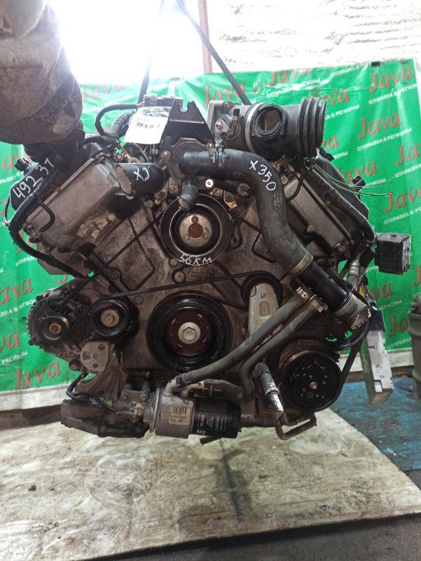 Двигатель Jaguar Xj X350 AJV8 2006 (б/у) ПРОБЕГ-56000КМ. КОСА+КОМП. СТАРТЕР В КОМПЛЕКТЕ.  SAJKC80PX5SG38705