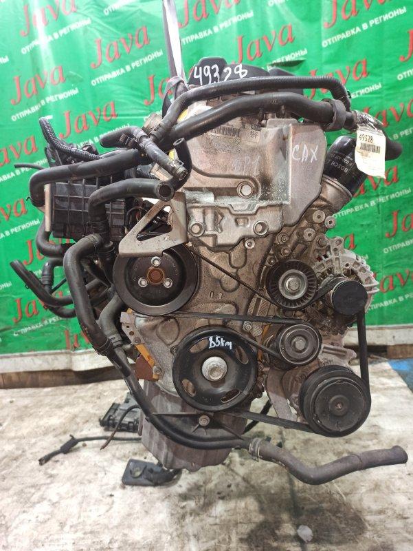 Двигатель Audi A3 8P1 CAX 2010 (б/у) ПРОБЕГ-85000КМ. 2WD. КОСА+КОМП. ПОД А/Т. СТАРТЕР В КОМПЛЕКТЕ. WAUZZZ8P6BA033890