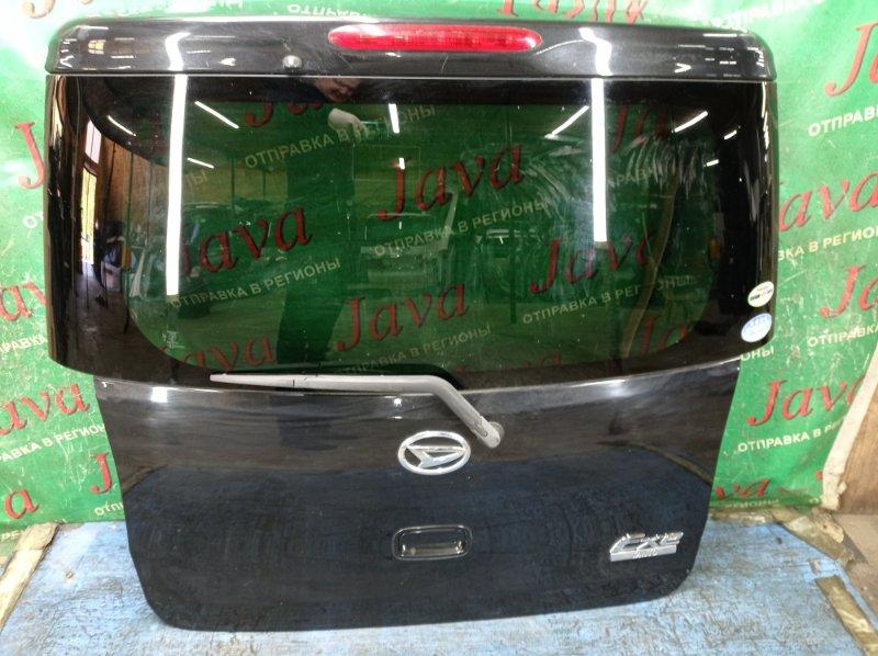 Дверь задняя Daihatsu Tanto L455S KF-VE 2010 задняя (б/у) ПОТЕРТОСТИ. МЕТЛА.