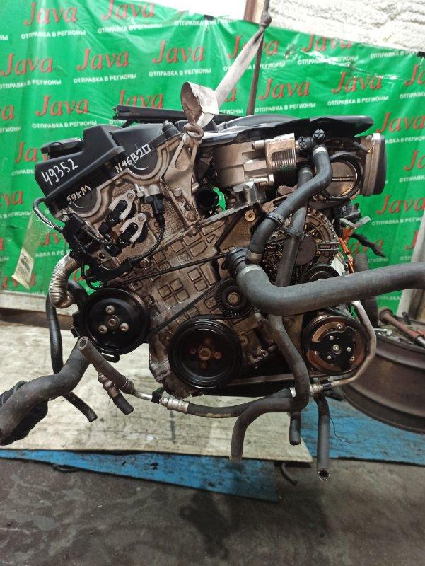 Двигатель Bmw 3-Series E91 N46B20 2007 (б/у) ПРОБЕГ-59000КМ. 2WD. +КОМП. ПОД А/Т. СТАРТЕР В КОМПЛЕКТЕ. WBAVR72000KW43029