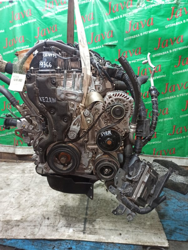 Двигатель Mazda Cx-5 KE2AW SH-VPTS 2012 (б/у) ПРОБЕГ-54000КМ. 4WD. КОСА+КОМП. ПОД А/Т. СТАРТЕР В КОМПЛЕКТЕ.