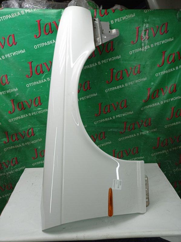 Крыло Jaguar Xj X350 AJV8 2006 переднее правое (б/у) ПОСЛЕ ФОТО УПАКОВАНО.  ПОТЕРТОСТИ. SAJKC80PX5SG38705