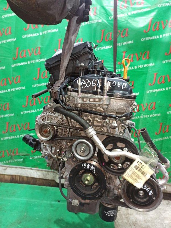 Двигатель Suzuki Alto HA36S R06A 2014 (б/у) ПРОБЕГ-14000КМ. 4WD. ENE-CHARGE. КОСА+КОМП. ПОД А/Т. СТАРТЕР В КОМПЛЕКТЕ.