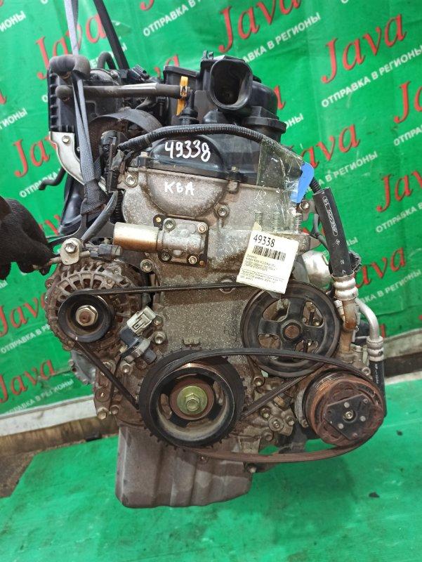 Двигатель Nissan Roox ML21S K6A 2011 (б/у) ПРОБЕГ-38000КМ. 2WD. +КОМП. ЭЛЕКТРО ЗАСЛОНКА. ПОД А/Т. СТАРТЕР В КОМПЛЕКТЕ.
