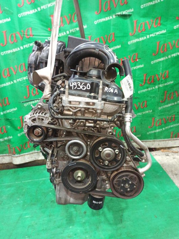 Двигатель Suzuki Spacia MK32S R06A 2013 (б/у) ПРОБЕГ-28000КМ. 2WD. +КОМП. ЭЛЕКТРО ЗАСЛОНКА. ПОД А/Т. СТАРТЕР В КОМПЛЕКТЕ.