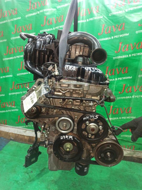 Двигатель Suzuki Wagon R MH34S R06A 2014 (б/у) ПРОБЕГ-24000КМ. 2WD. +КОМП. ПОД А/Т. СТАРТЕР В КОМПЛЕКТЕ.