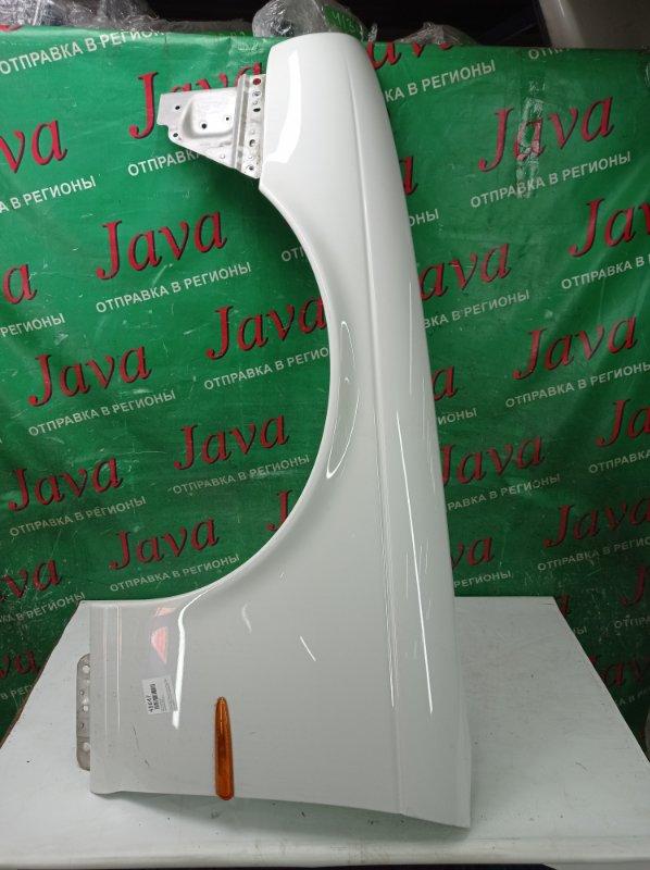 Крыло Jaguar Xj X350 AJV8 2006 переднее левое (б/у) ПОСЛЕ ФОТО УПАКОВАНО.  ПОТЕРТОСТИ. SAJKC80PX5SG38705