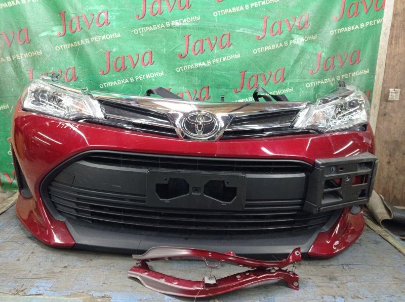 Ноускат Toyota Corolla Axio NZE161 1NZ-FE 2019 передний (б/у) 2-Я МОД. ФАРЫ ГАЛОГЕН.