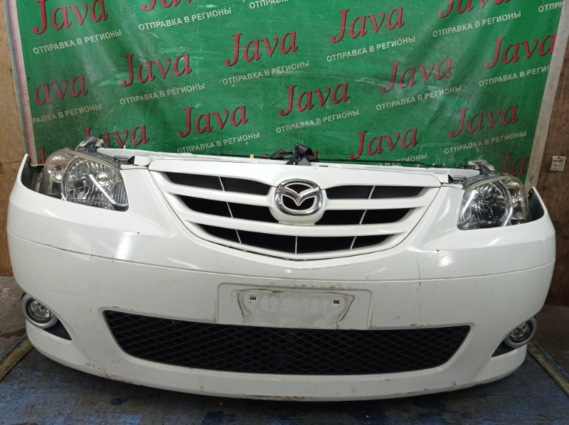 Ноускат Mazda Mpv LW3W L3-DE 2005 передний (б/у) 2-Я МОД. ТУМАНКИ. ФАРЫ ГАЛОГЕН. ПОД А/Т. ФАРЫ ПОД ПОЛИРОВКУ.