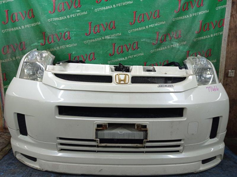 Ноускат Honda Mobilio GB1 L15A 2004 передний (б/у) 2-Я МОД. КСЕНОН. ГУБА(ЛОМ).