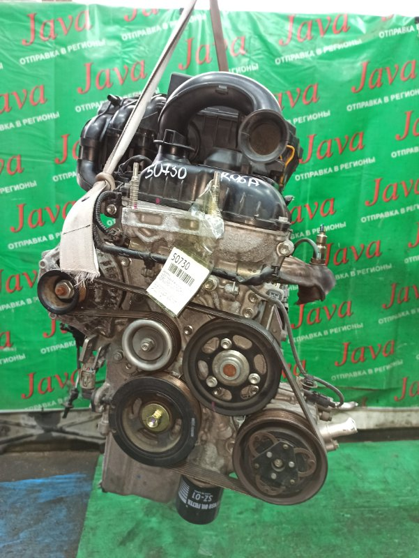 Двигатель Suzuki Wagon R MH34S R06A 2014 (б/у) ПРОБЕГ-25000КМ. 2WD. +КОМП. ЭЛЕКТРО ЗАСЛОНКА. ПОД А/Т. СТАРТЕР В КОМПЛЕКТЕ.