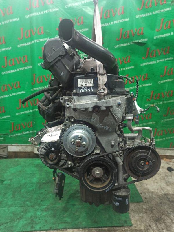 Двигатель Daihatsu Mira E:s LA300S KF-VE3 2012 (б/у) ПРОБЕГ-34000КМ. 2WD.+КОМП. ЭЛЕКТРО ЗАСЛОНКА.  ПОД А/Т. СТАРТЕР В КОМПЛЕКТЕ.