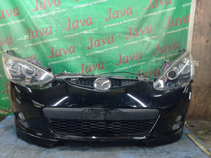 Ноускат Mazda Demio DE3FS ZJ-VE 2008 передний (б/у) КСЕНОН. ТУМАНКИ. НАКЛАДКИ НА БАМПЕРЕ. ЦАРАПИНА НА ЛЕВОЙ  ФАРЕ.