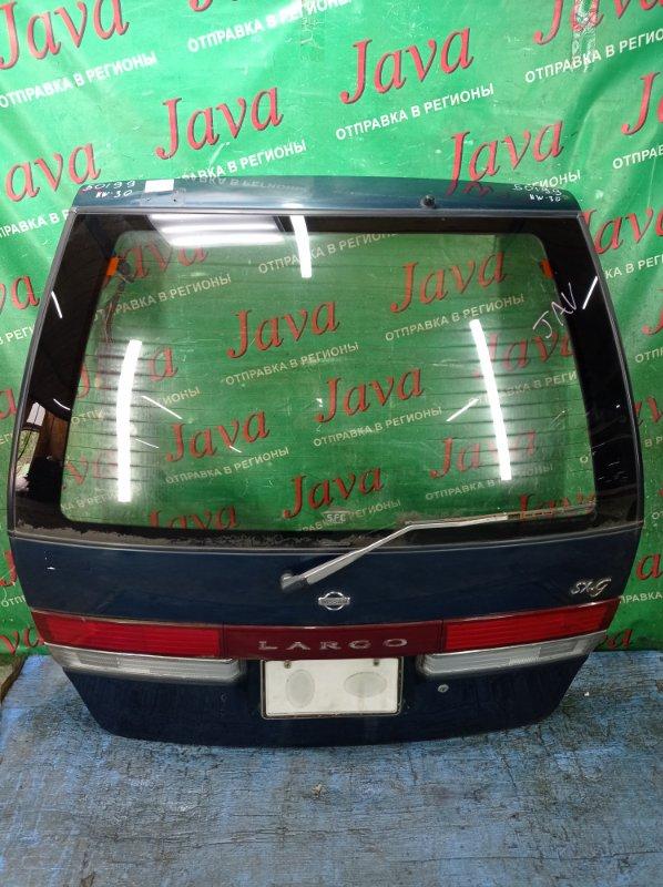Дверь задняя Nissan Largo NW30 KA24DE 1995 задняя (б/у) ПОТЕРТОСТИ. МЕТЛА.