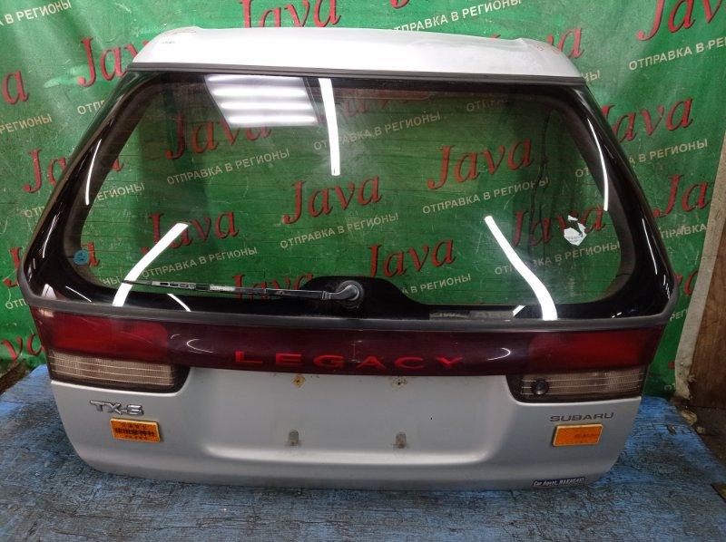 Дверь задняя Subaru Legacy BG5 EJ20 1997 задняя (б/у) ПОТЕРТОСТИ. ПОЛЕЗ ЛАК.
