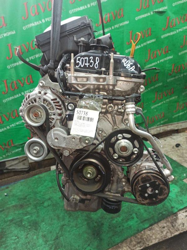 Двигатель Suzuki Hustler MR41S R06A 2015 (б/у) ПРОБЕГ-21000КМ. 2WD. +КОМП. ПОД А/Т. СТАРТЕР В КОМПЛЕКТЕ. ДЕФЕКТ КЛАПАННОЙ КРЫШКИ.