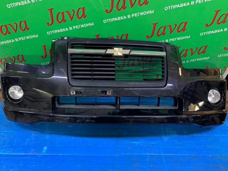 Бампер Chevrolet Mw ME34S M13A 2006 передний (б/у) ПОТЕРТОСТИ. ТУМАНКИ.