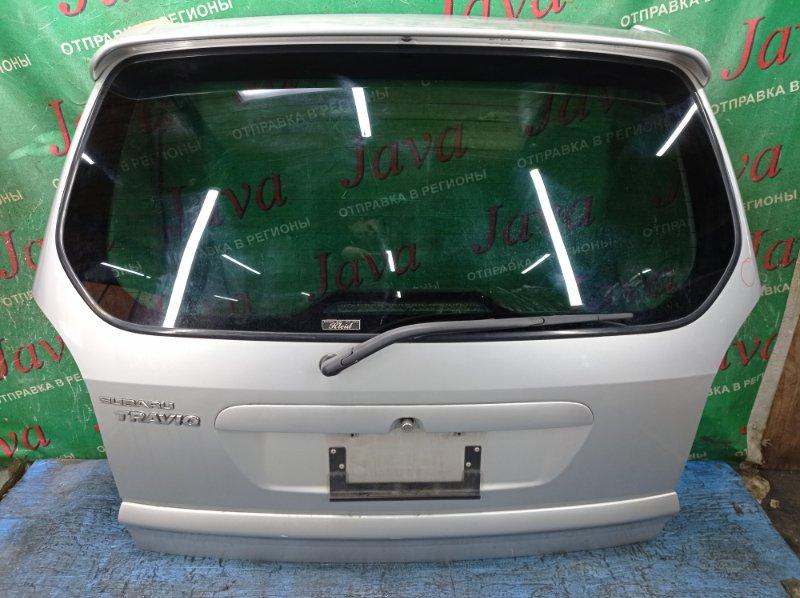 Дверь задняя Subaru Traviq TA-XM220 Z22 2004 задняя (б/у) ПОТЕРТОСТИ. ТЫЧКА. СПОЙЛЕР(ПОЛЕЗ ЛАК). W0L0TGF753H018926