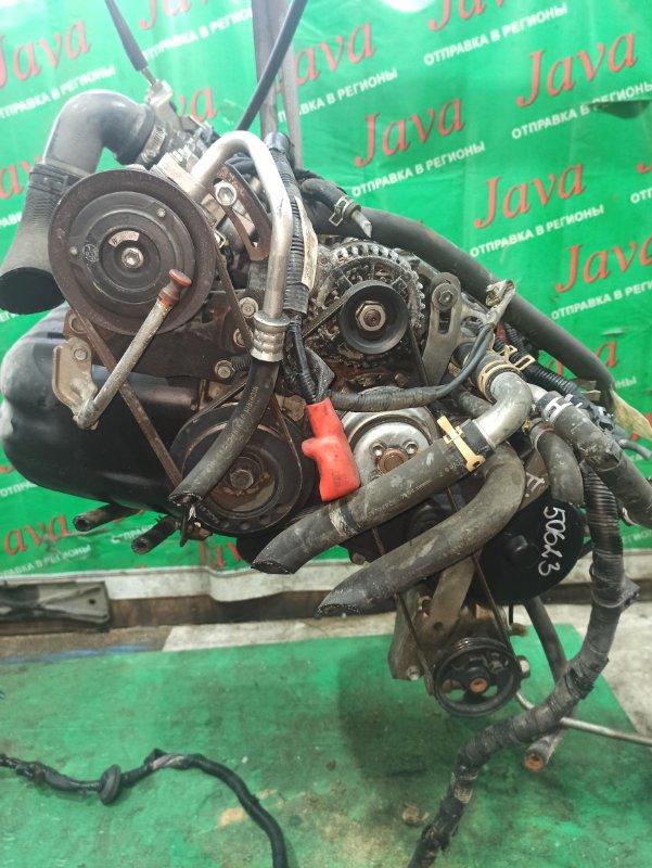 Двигатель Daihatsu Atrai S320G EF-DET 2007 (б/у) ПРОБЕГ-59000КМ. 2WD. КОСА+КОМП. МЕХ.ЗАСЛОНКА. ПОД А/Т. СТАРТЕР В КОМПЛЕКТЕ.