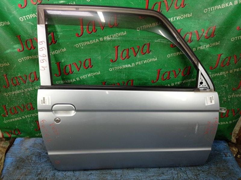 Дверь Nissan Kix H59A 4A30 2009 передняя правая (б/у) ПОТЕРТОСТИ. ТЫЧКИ. ПОДОГНУТ КРАЙ. +ВЕТРОВИК.
