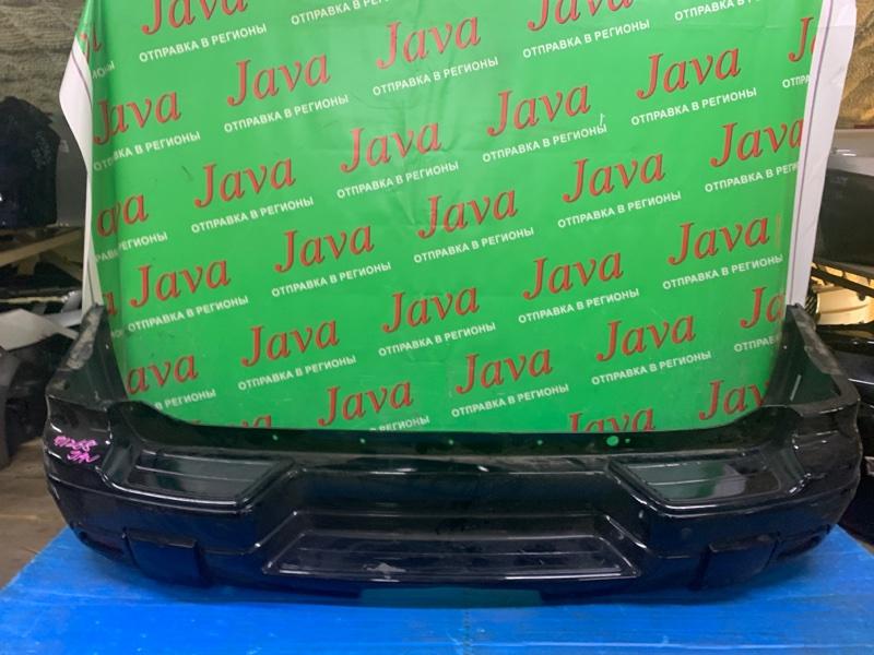 Бампер Chevrolet Trailblazer GMT360 LL8 2002 задний (б/у) ПОТЕРТОСТИ. СЛЕЗЛА КРАСКА. 1GNDT13S122490409