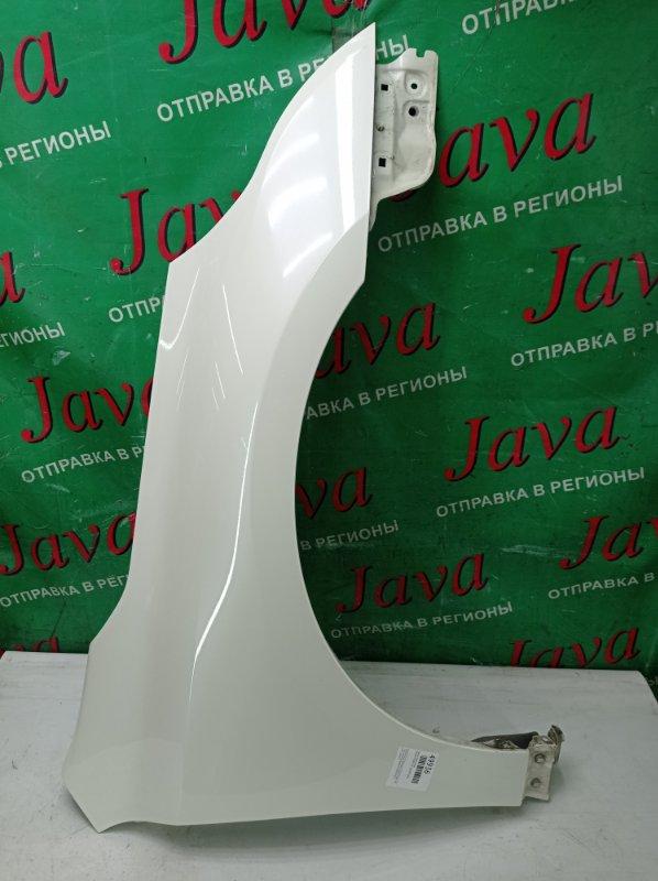 Крыло Nissan Teana J32 VQ25DE 2008 переднее правое (б/у) ПОСЛЕ ФОТО УПАКОВАНО.  ПОТЕРТОСТИ.