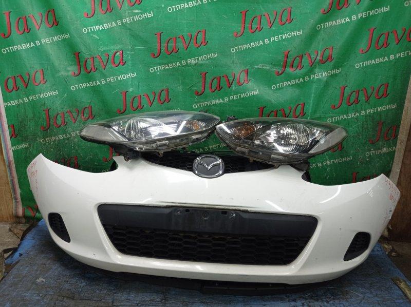 Ноускат Mazda Demio DE3FS ZJ-VE 2008 передний (б/у) 1-Я МОД. ПОД А/Т .