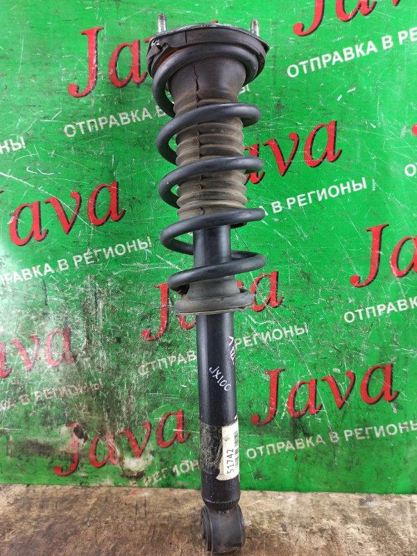 Стойка Toyota Mark Ii JZX100 1JZ-GE 1999 задняя правая (б/у) 2WD.ПРУЖИНЫ УСИЛЕННЫЕ.  ДЕФЕКТ ПЫЛЬНИКА