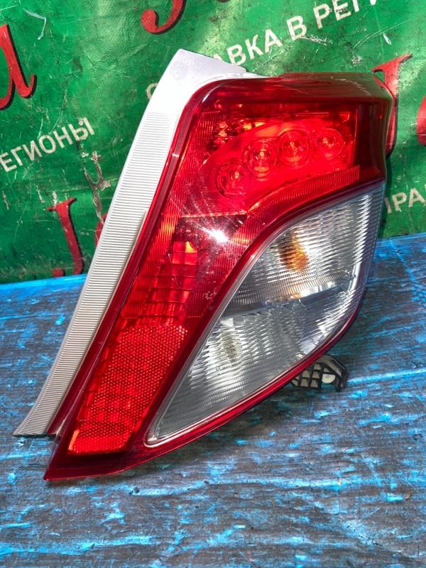 Стоп-сигнал Toyota Vitz NSP130 1NR-FE 2014 задний правый (б/у) 52-228