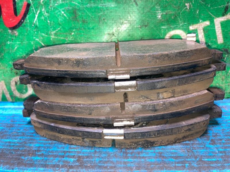 Колодки тормозные Nissan Bluebird Sylphy KG11 MR20DE 2007 передние (б/у) КОМПЛЕКТ. ЦЕНА УКАЗАНА ЗА КОМПЛЕКТ