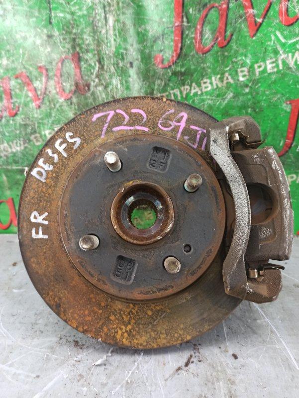 Ступица Mazda Demio DE3FS ZJ-VE 2010 передняя правая (б/у) 2WD. ABS