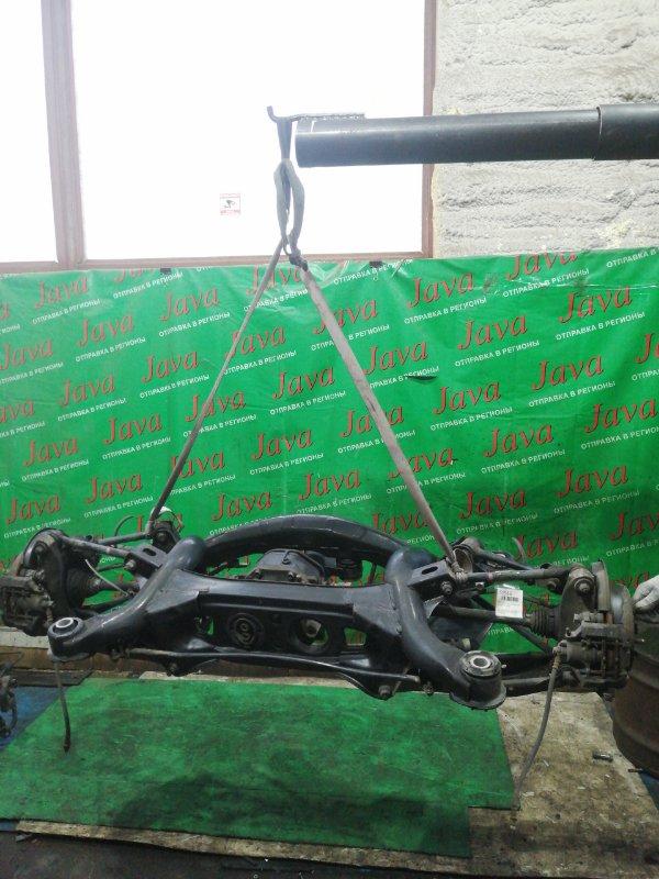 Балка Toyota Mark X GRX120 4GR-FSE 2006 задняя (б/у) 2WD. ABS 41:10=4.100
