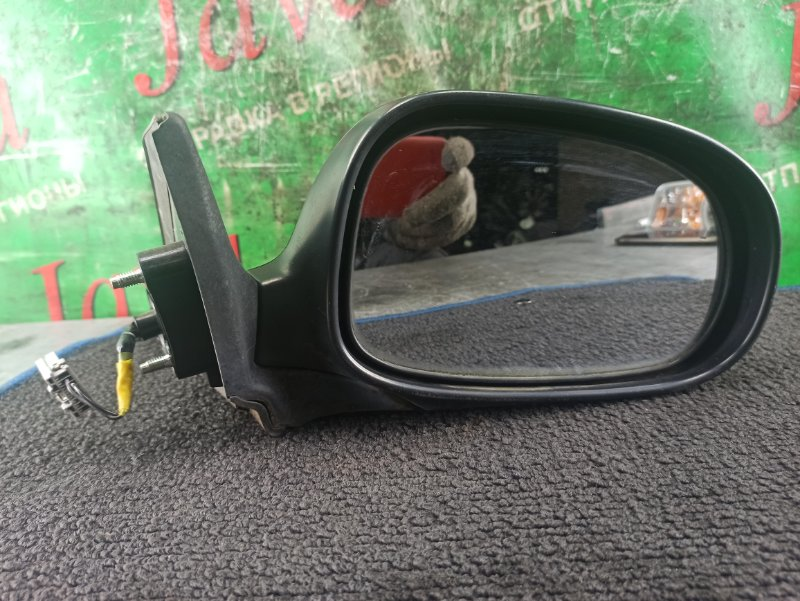 Зеркало Nissan Ad Y11 QG15DE 2002 переднее правое (б/у) 2 КОНТАКТА
