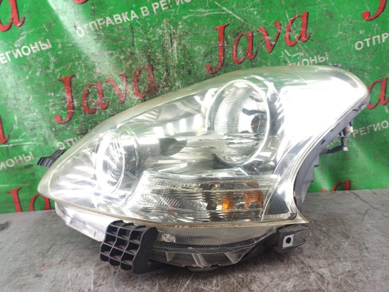 Фара Toyota Ractis SCP100 2SZ-FE 2008 передняя левая (б/у) 52-189. ЛОМ ВЕРХНЕГО КРЕПЛЕНИЯ