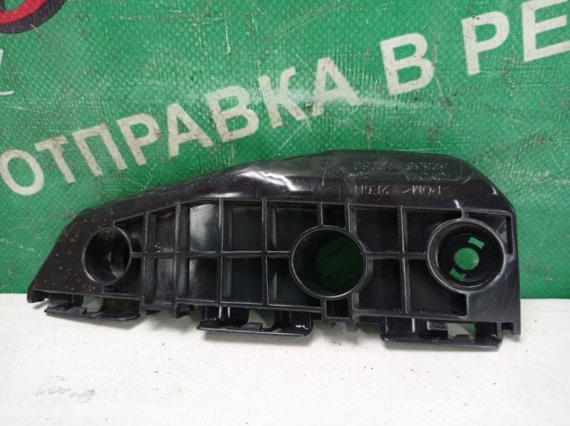 Крепление бампера Toyota Auris NZE151 1NZ-FE 2010 переднее левое (б/у)