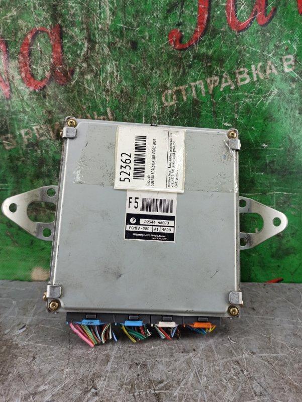 Блок efi Subaru Forester SG5 EJ202 2004 (б/у) 22644 AA970